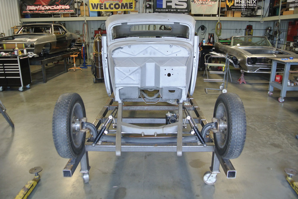 01 1934 Ford Five Frame Fabrication