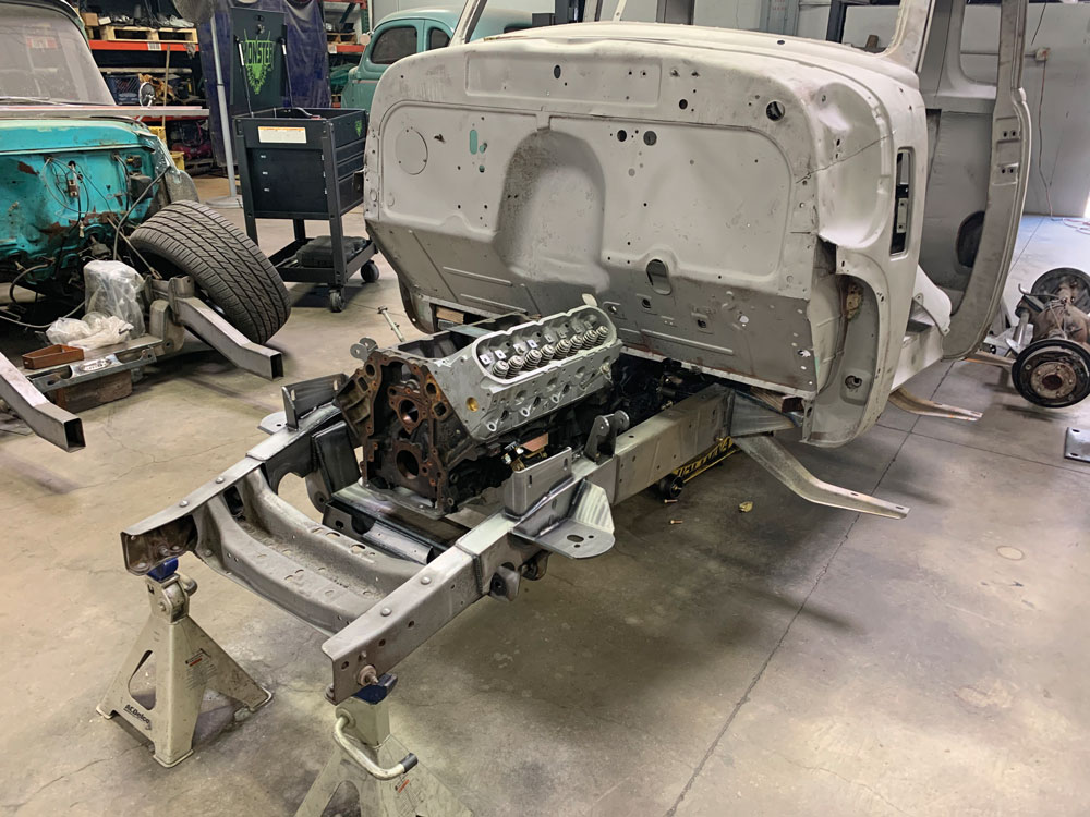 010 LS swap truck project
