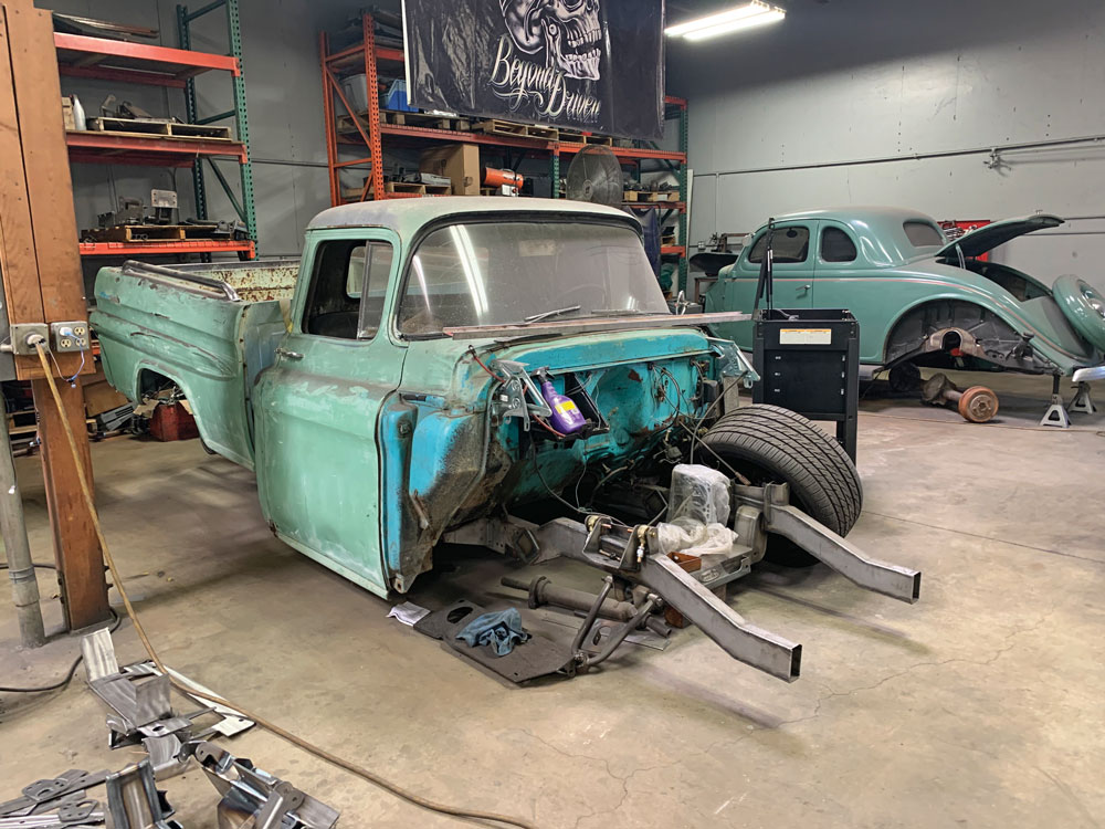 013 classic truck project