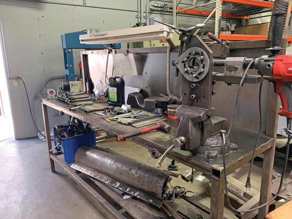 019 metal fabrication table