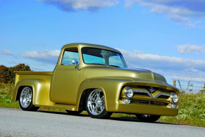 How to Build a 1955 Ford F-100 in 300 Days