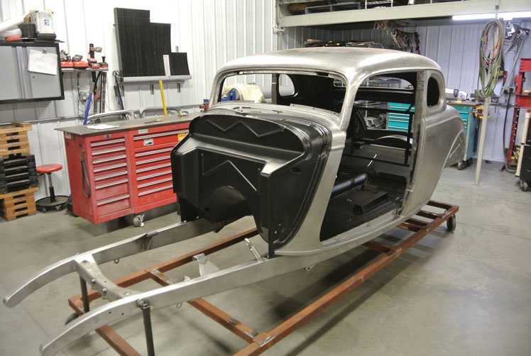 17 How To Recess A Firewall On A 1934 Ford Five Window Coupe