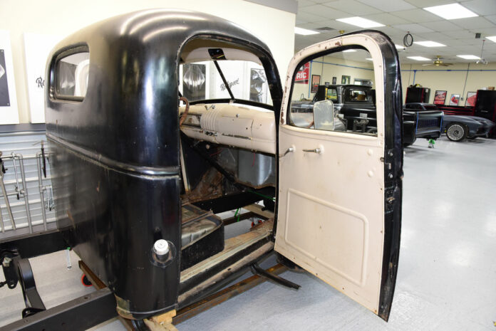 001 Classic truck panel getting restored