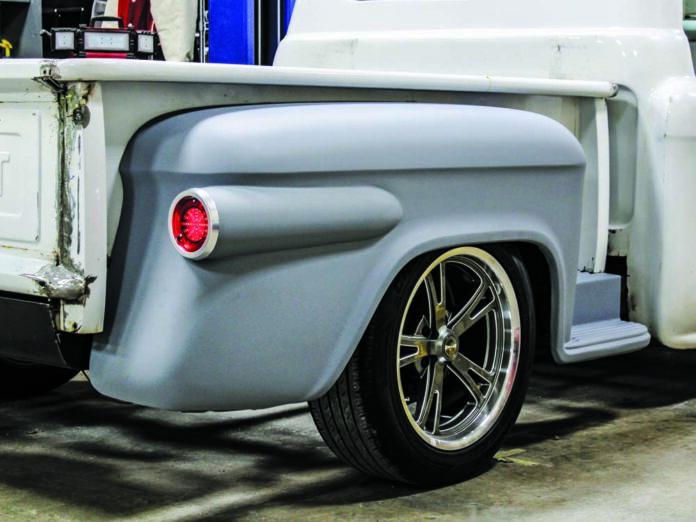 001 Custom tailights on a 1959 Chevy