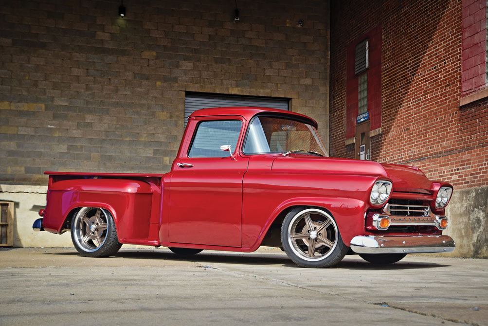 001 LS3 swapped 1959 Chevy Apache Pickup