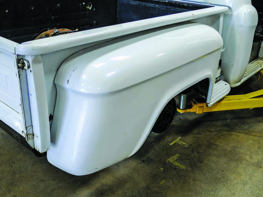 003 Prepping the 1959 Chevy Apache Stepside for custom truck modifications