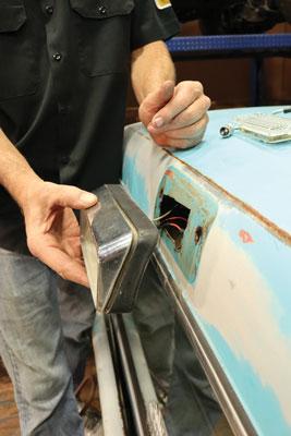 006 Installing new LED third brake light kit