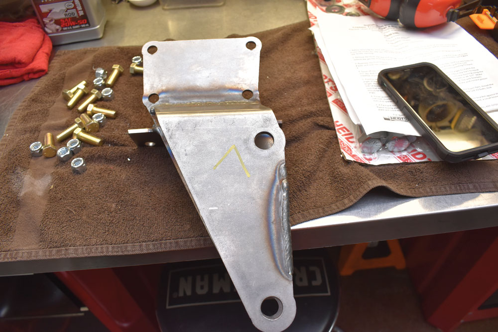 006 New Upgrade Heidts rear suspension bracket for four bar linkage