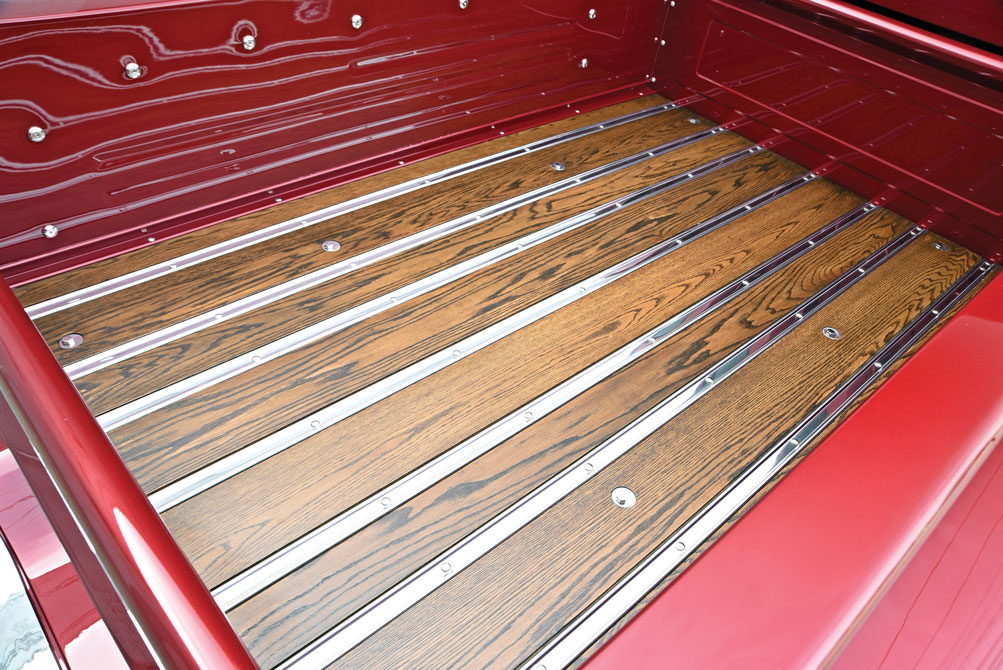 010 TCI chassis built custom truck bed on this 1959 Chevy Truck