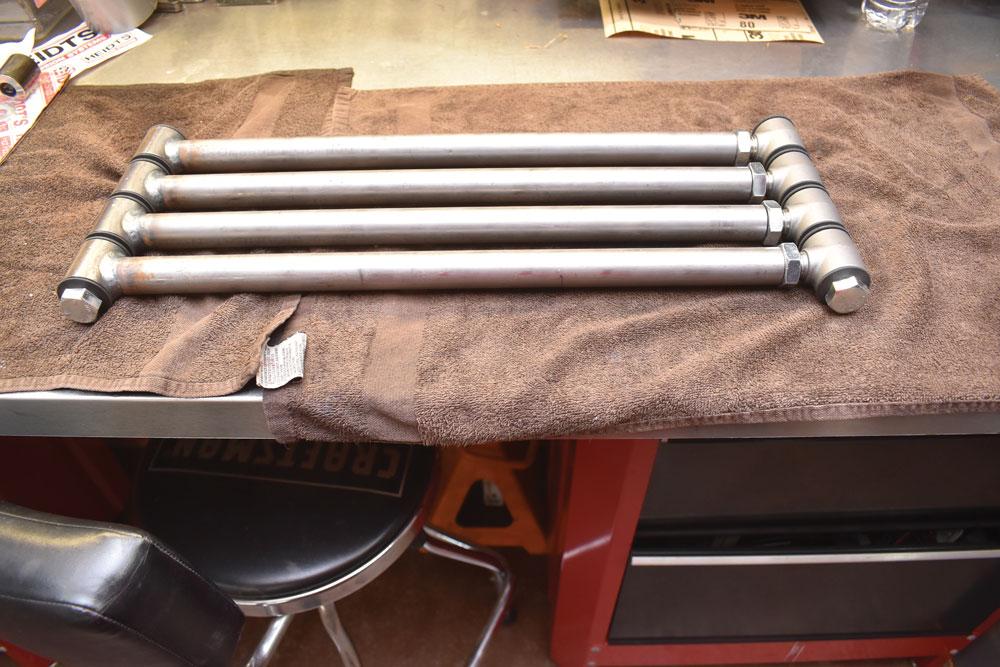 012 Four-Bars linkage for Heidts rear suspension kit