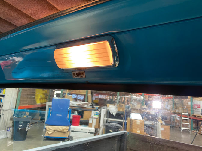 019 LED light from interior with same housing c10 truck