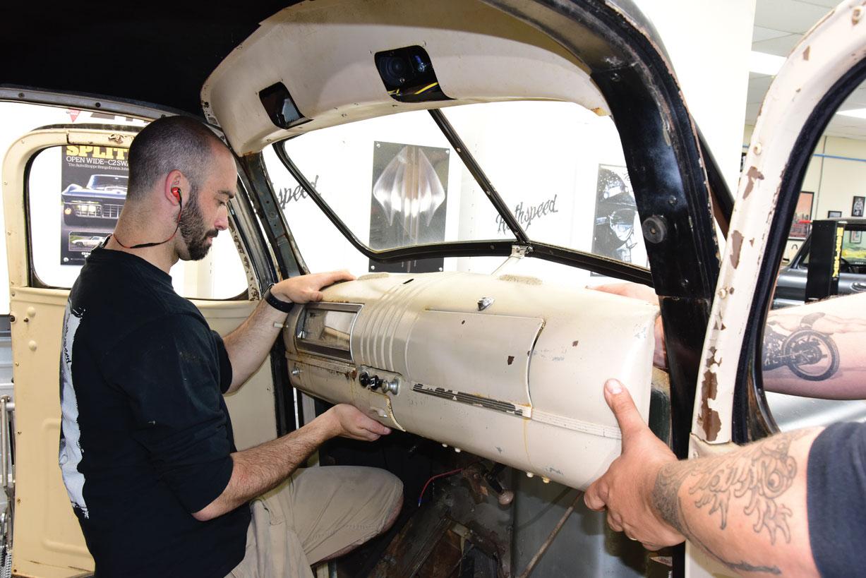 023 Removing classic truck dash