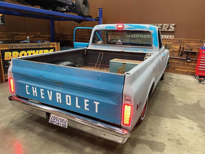 025 LED light vintage truck Chevrolet C10 LED third brake