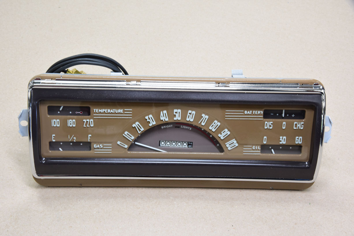 026 New classic truck cluster gauge from Chev of the 40s