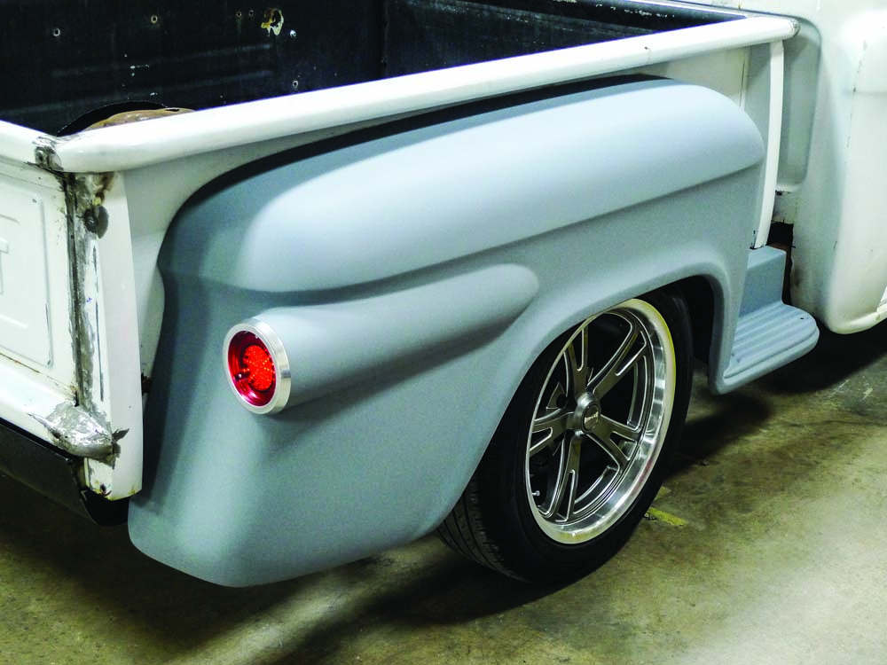 032 Custom taillight set up for 1959 Chevy truck restomod style