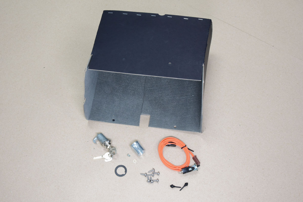 034 dash panel components from chevs of the 40s glovebox kit