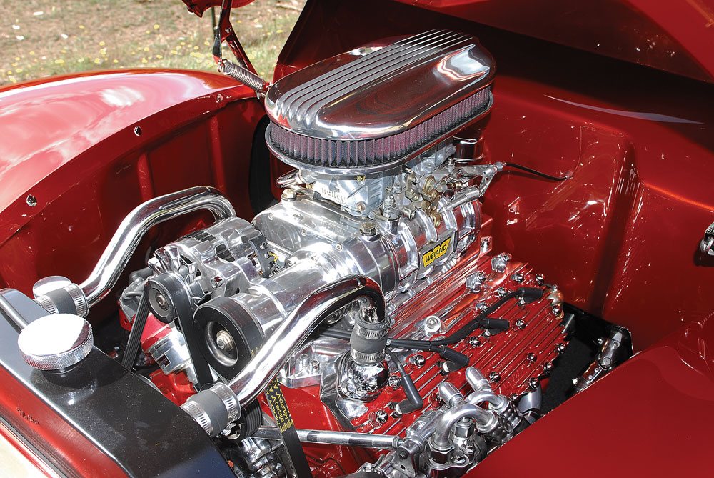 06 1939 Ford Convertible supercharged Ford Flathead V8 street rod