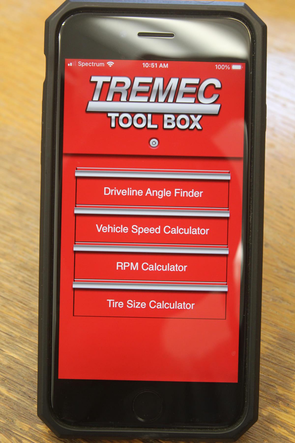 002-tremec-driveline-angle-app