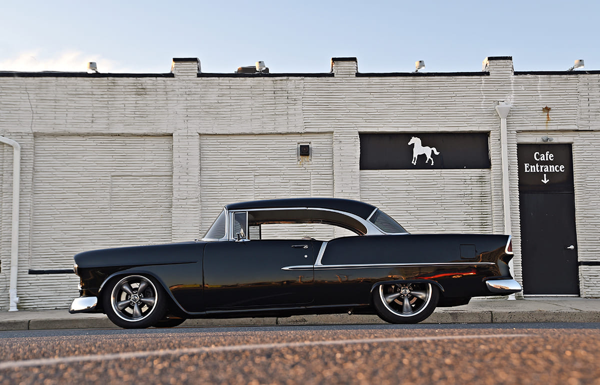 003-black-1955-chevy-restomod
