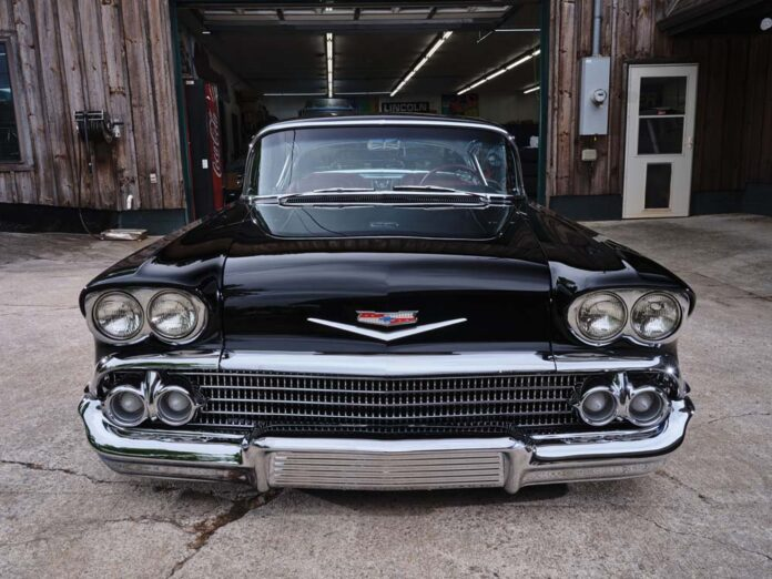 02 1958 Chevy Impala with a 440 big block