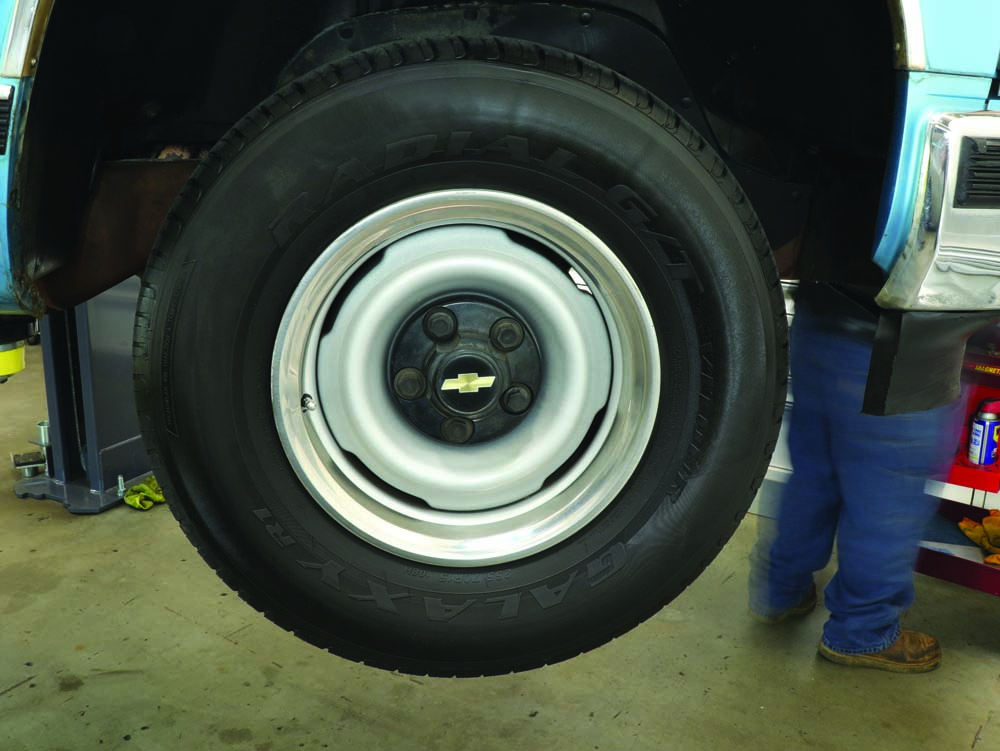 02 Chevy C1500 K1500 limited wheel space