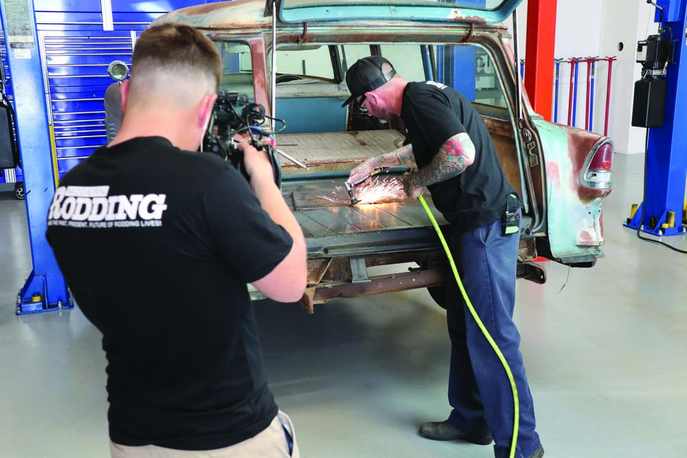 02 Chevy Station Wagon welding