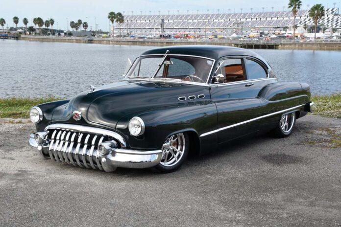 02 Merritt Auto Repair built this custom hot rod 1950 Buick Sedanette