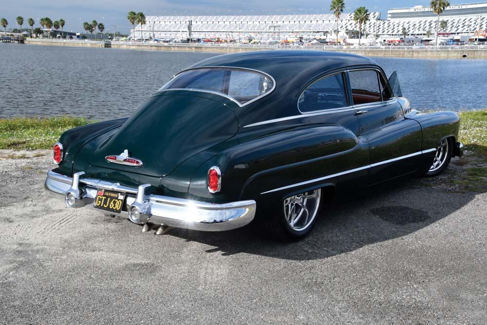 03 1950 Buick Sedanette on RideTech air suspension with Billet Specialtie wheels