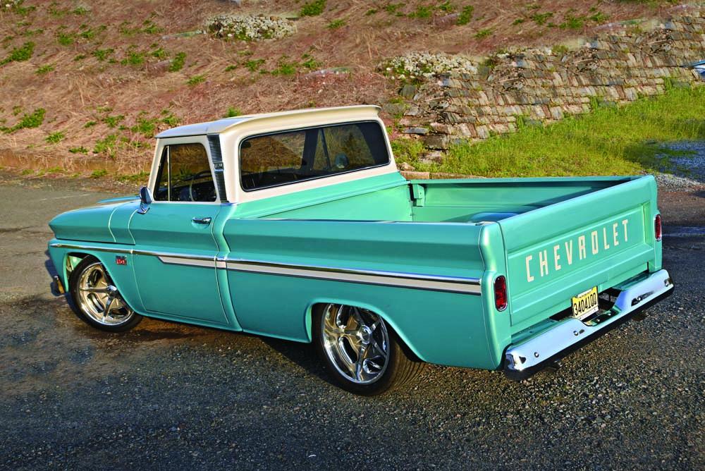 04 1966 C10 Axalta Cromax paint show truck