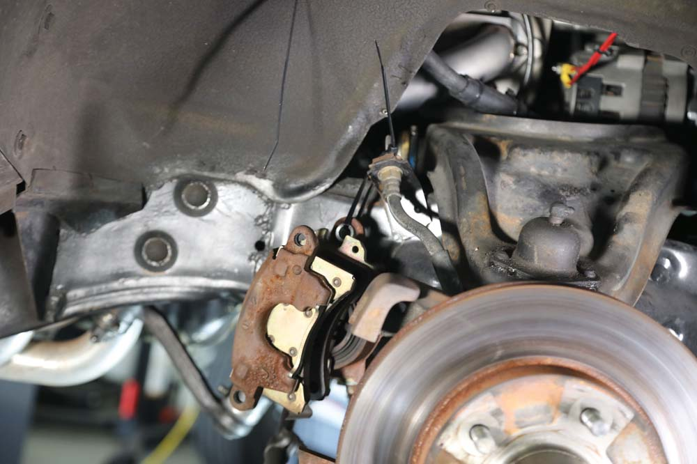 04 Lower control arm for Tri-Five Chevy