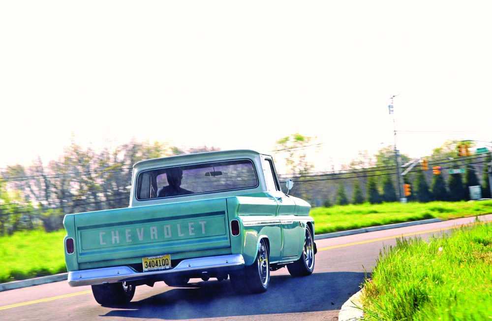 05 Classic C10 RideTech suspension Bux customs with a small block chevy