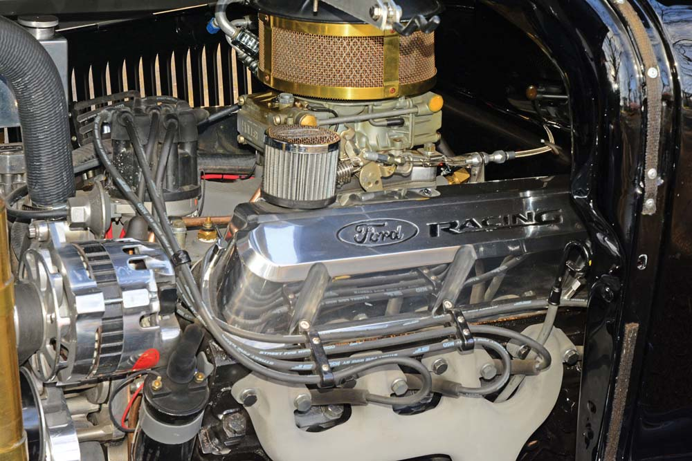 08 Ford 302 V8 paired to overdrive transmission