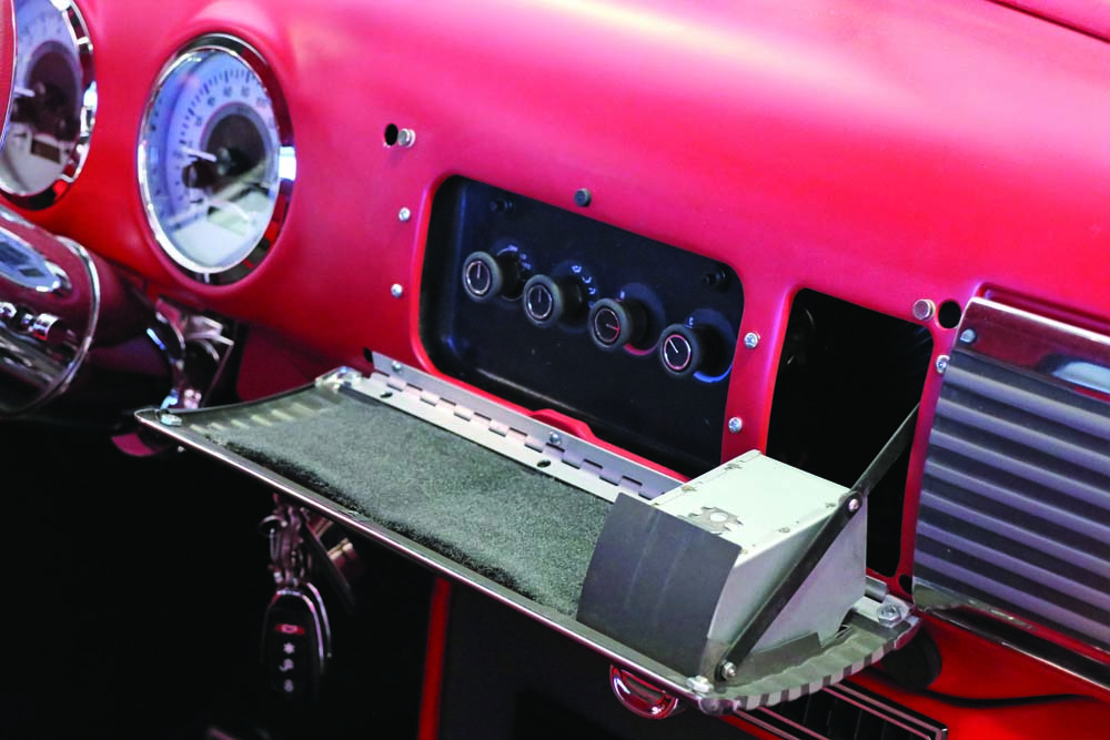 08 bolt on kit gives access dash panel for vintage dashes