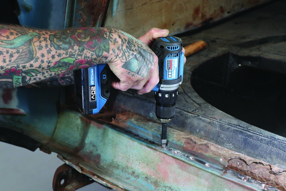 09 cordless electric impact driver