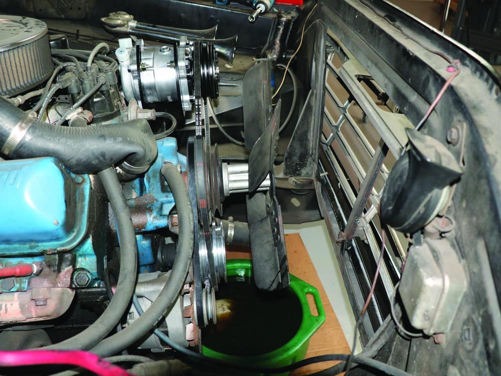 11 AC compressor V-belt issue