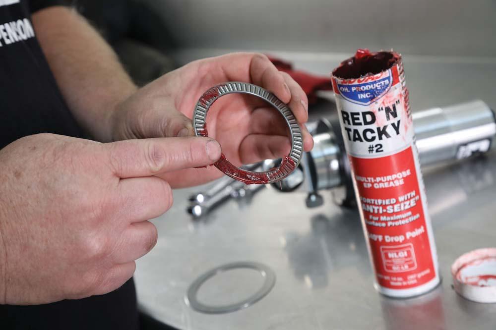 15 Spring preload adjustment Aldan American offers optional thrust bearing kit