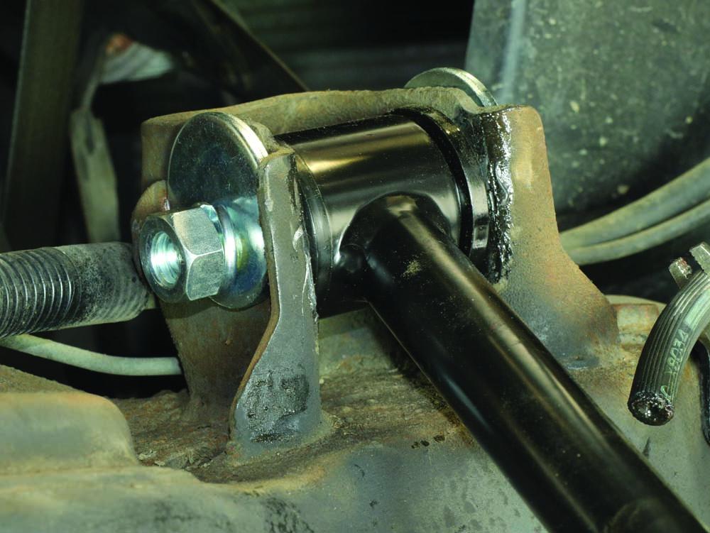 15 Stone Custom Fab tubular control arms are adjustable