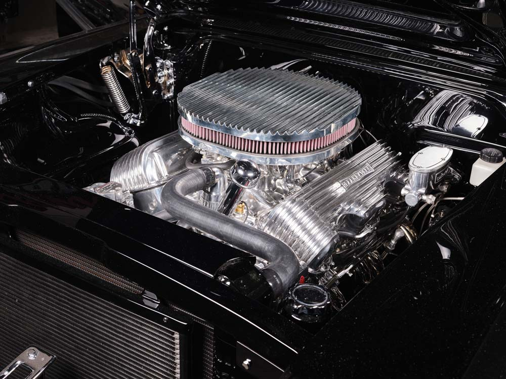 18 440 big block with Rochester ramject fuel injection and MSD distributor