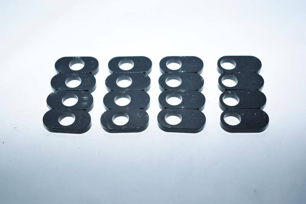 18 Caster adjustments with inserts for 1954 Ford