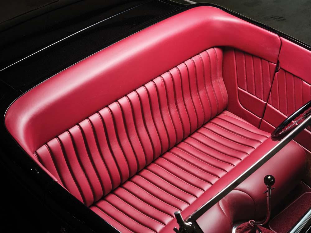 19 Hot rod roadster custom interior from Pro Auto Custom Interiors
