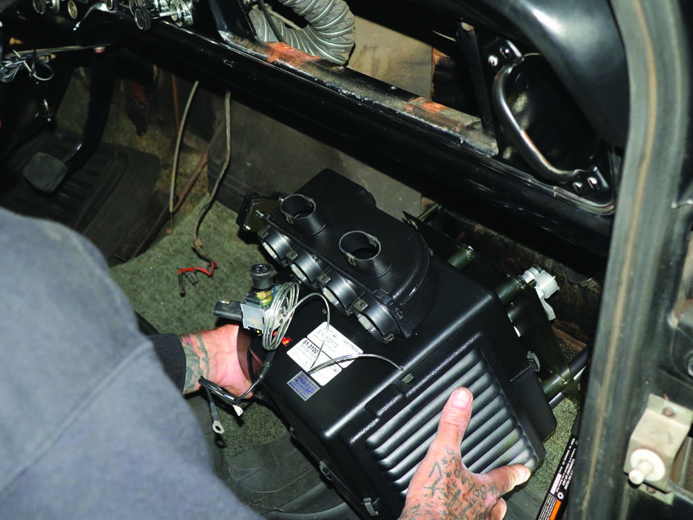 24 installing new ac system components for the 1967 Ford F100