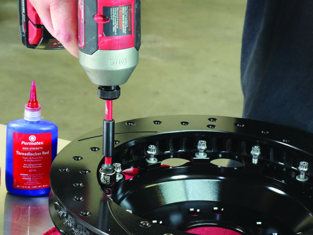 25 Wilwood brake rotors using torque fasteners