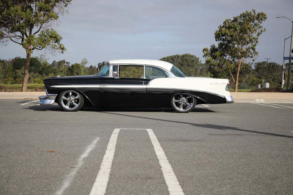 29 1956 Chevy with modern suspension with Aldan American coilover conversion