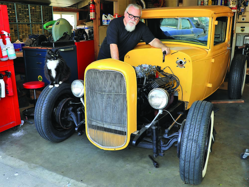 01 1931 Model A Ford built using Speedway Motors parts