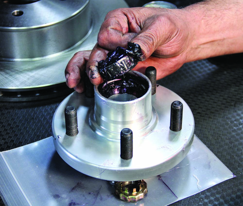 018 Installing wheel bearing to hub assembly