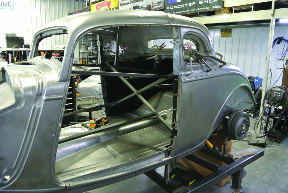 02 BBT Fabrications building this traditional hot rod