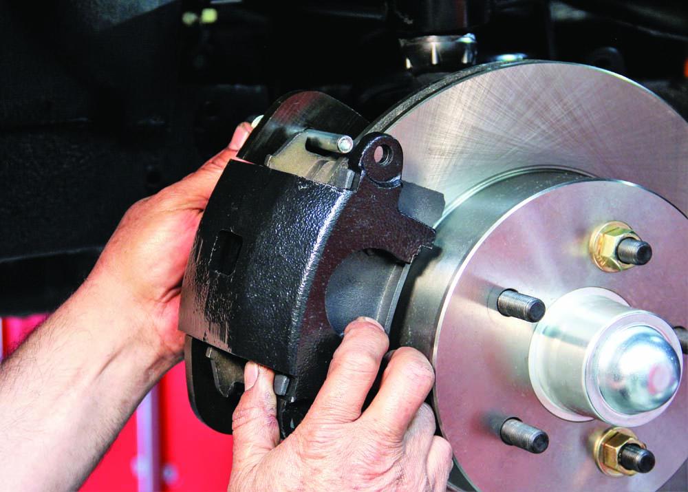 026 CPP Brake kit caliper install