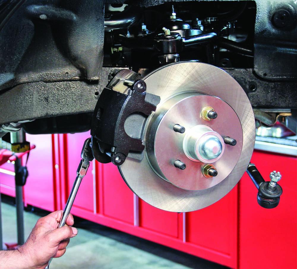 027 CPP brake kit caliper torqued to spec