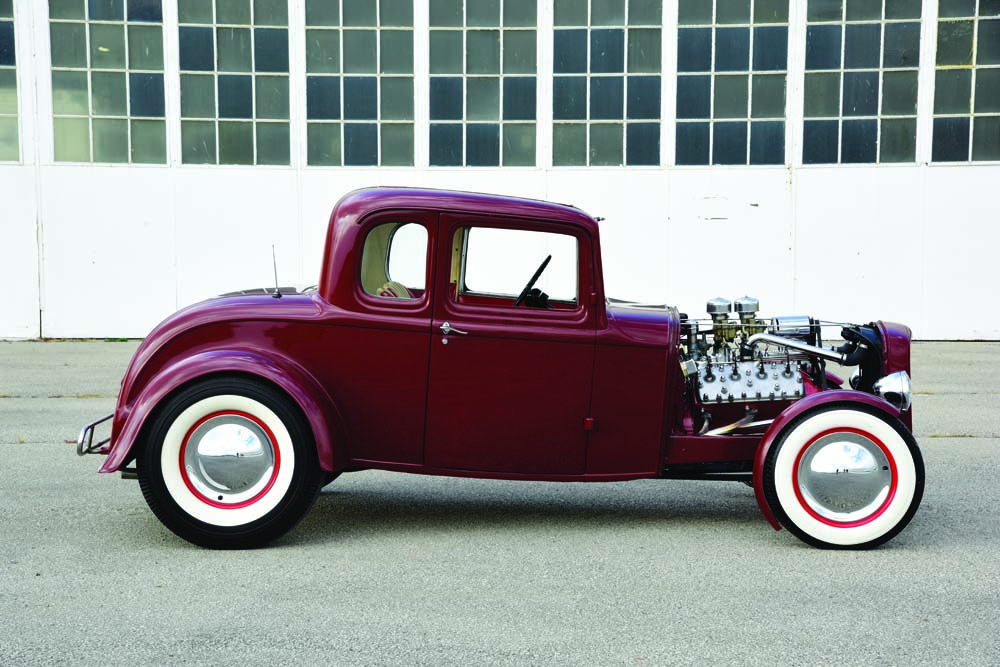 03 Chopped and Channeled 1932 Ford Coupe with 4.11 Gear rear end