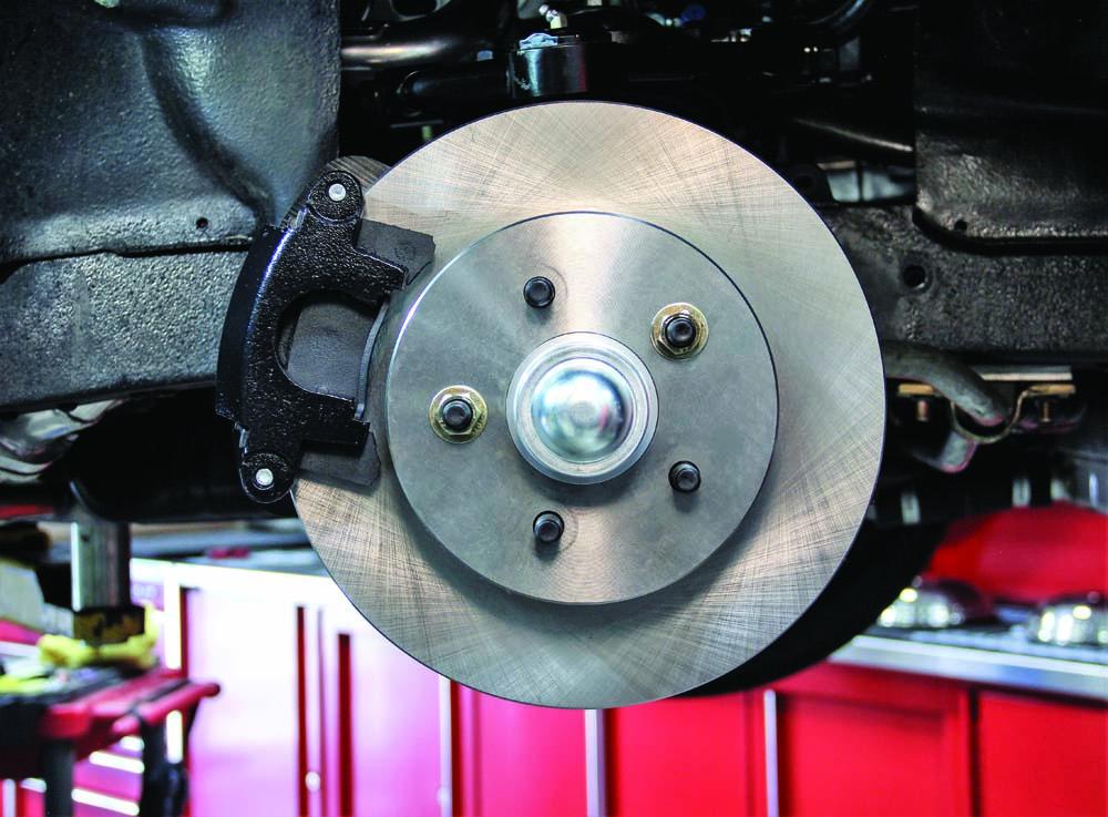033 Breaking in the new brake kit